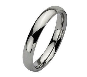 Stainless Steel 4mm Polished Ring - J107809