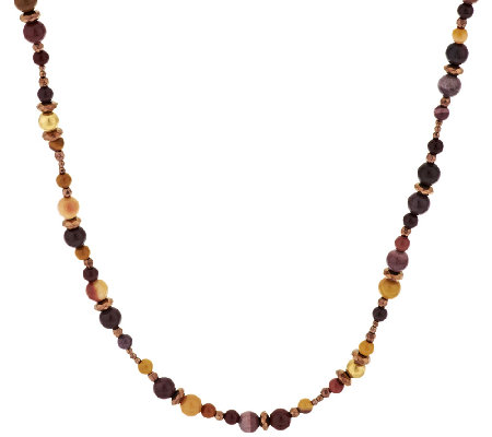 Carolyn Pollack Sterling Gemstone Bead Necklace
