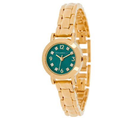 Isaac Mizrahi Live! Mini Colored Dial Bracelet Watch