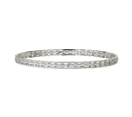 Simply Stacks Sterling Fleur-de-Lis Bangle