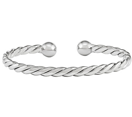 Sterling Twisted Cuff Bracelet