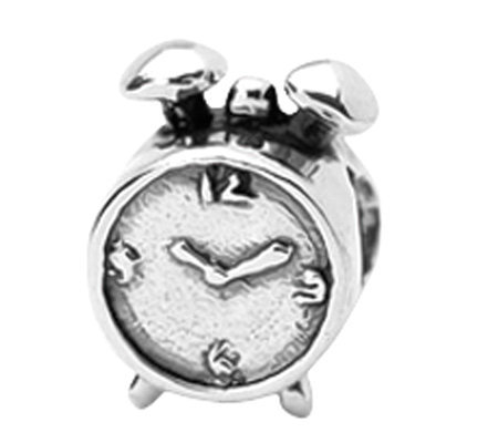Prerogatives Sterling Alarm Clock Bead