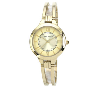 Anne Klein Women's Goldtone or Two-Tone Bracelet Watch - J316310