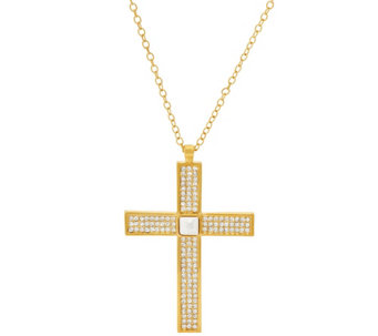 Linea by Louis Dell'Olio Double Sided Cross Pendant - J317110