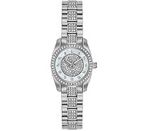 Bulova Women's Stainless Swarovski Crystal Watch - J378510