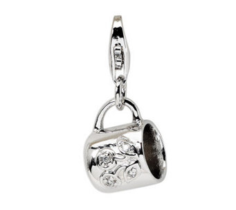 Amore La Vita Sterling Baby Cup Charm - J299711