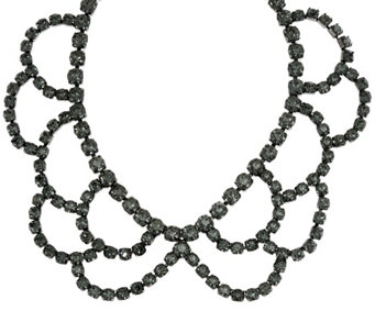LOGO Links by Lori Goldstein Crystal Statement Necklace - J332911