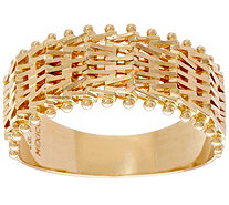 Imperial Gold Woven Wheat Ring, 14K Gold - J335111