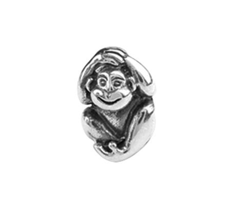 Prerogatives Sterling Monkey Bead