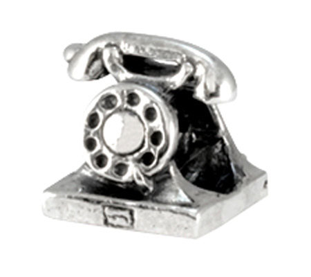 Prerogatives Sterling Telephone Bead