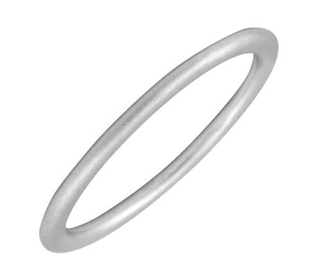 Simply Stacks Sterling Silver Satin-Finish 1.5mm Ring