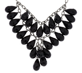 Linea by Louis Dell'Olio Teardrop Bib Necklace - J317112