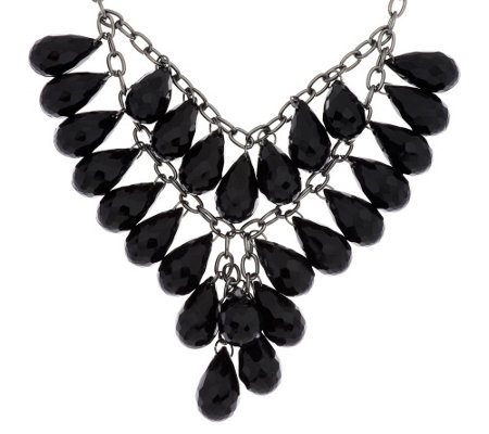 Linea by Louis Dell'Olio Teardrop Bib Necklace