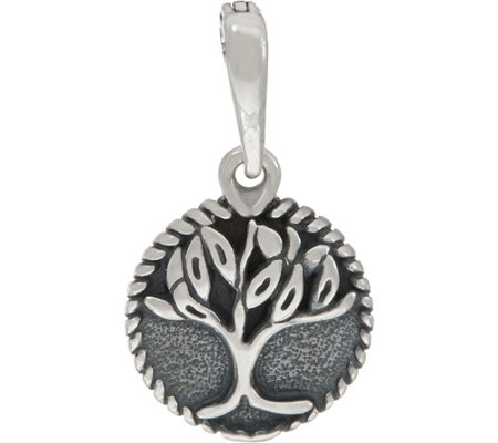 Carolyn Pollack Sterling Silver Tree of Life Charm Enhancer