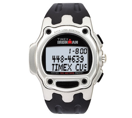 Timex Ironman Triathlon Data Link USB Watch with Black Band