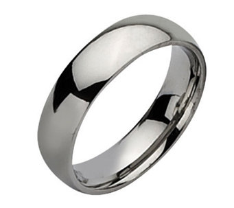 Stainless Steel 6mm Polished Ring - J107813