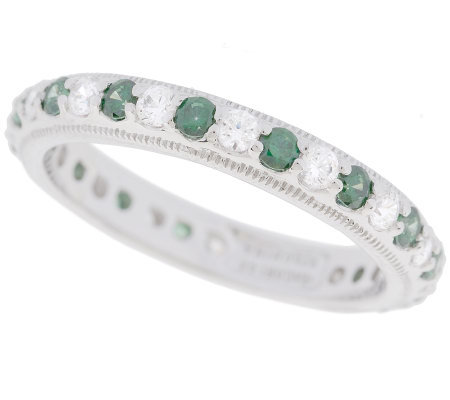 Tacori Epiphany Diamonique Stackable Eternity Band