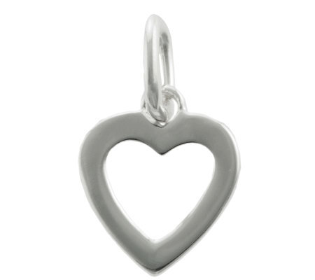 Mixers Sterling Open Heart Pendant