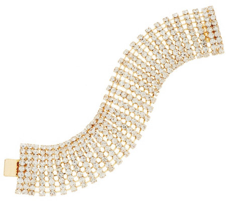Linea by Louis Dell'Olio Domed Crystal Bracelet