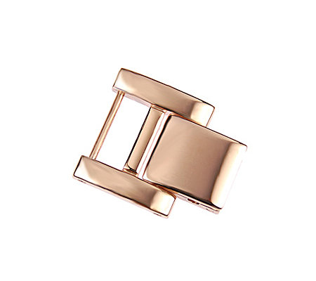 Ecclissi Rosetone Stainless Steel Watch Extender Clasp