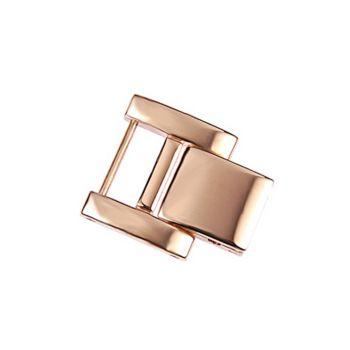 Ecclissi Rosetone Stainless Steel Watch Extender Clasp