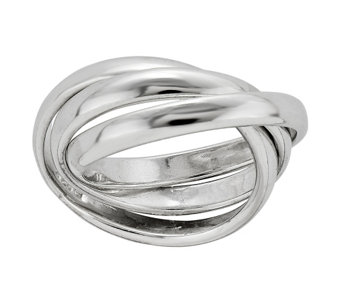Sterling Silver Polished Rolling Ring by Silver Style - J342113