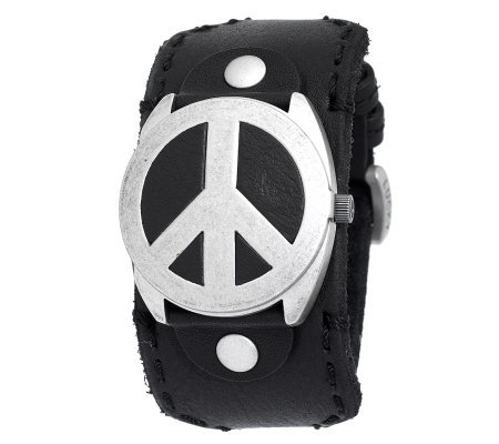 Lucky Brand Accessories | Like New Watch Peace Sign Face ... |Lucky Brand Peace Watch