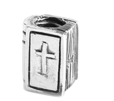 Prerogatives Sterling Silver Bible Bead