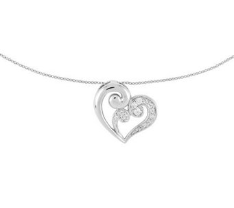 Sentimental Expressions Sterling A Mother's Journey Necklace - J313414