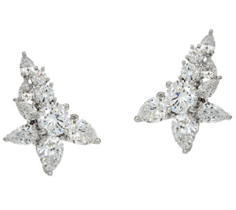 The Elizabeth Taylor 7.30cttw Simulated Diamond Ear Climber - J325214