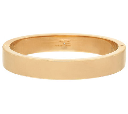 """As Is"" Bold Small Oval Hinged Bangle Bracelet, 14K"