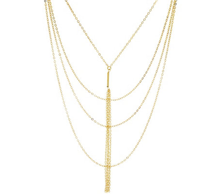 G.I.L.I. Multi-strand Tassel Drop Necklace
