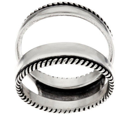 Carolyn Pollack Sterling Silver Polished Ring Guard