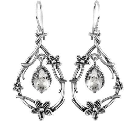 Or Paz Sterling 2.70 cttw Crystal Quartz Earrin gs — QVC.com