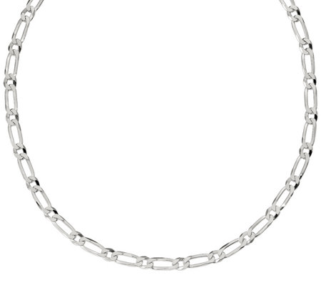 "Italian Silver 20"" Oval Link Chain, 27.8g"