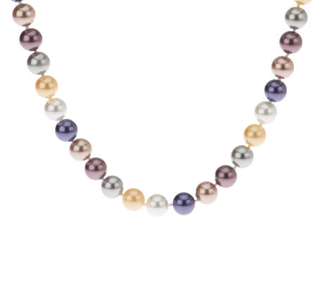 "Kenneth Jay Lane's 44"" Presidential Simulated Pearl Necklace"