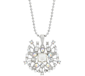 C. Wonder Crystal Starburst Pendant with Chain - J332615