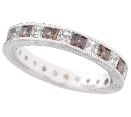Tacori Epiphany Diamonique Chocolate Eternity Band