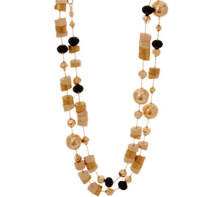 Linea by Louis Dell'Olio Aztec Style Bead Necklace