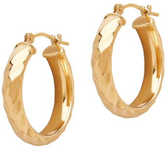 EternaGold Twisted Hoop Earrings, 14K Gold - J345515