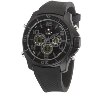 Wrist Armor U.S. Army C24 Multifunction Watch -Black Stealth - J345715