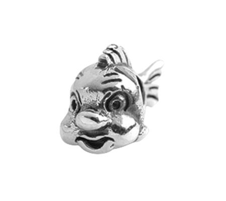 Prerogatives Sterling Fish Bead
