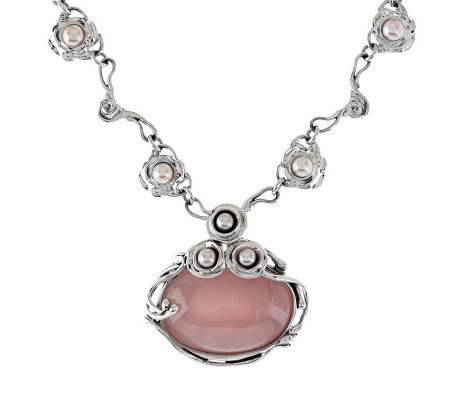 Hagit Sterling Limited Edition Gemstone Necklace