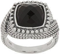Tiffany Kay Studio Sterling Silver Onyx Ring - J352316