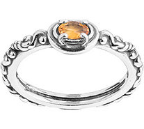 Carolyn Pollack Simply Fabulous Choice of Stackable Ring - J376616