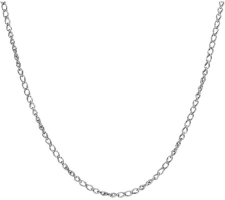 "Carolyn Pollack Sterling Silver 24""L Wheat Chain Necklace"