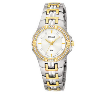 Pulsar Crystal Two-Tone Watch - J107917