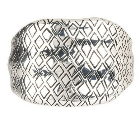 Animal Instinct Hinged Bangle Bracelet