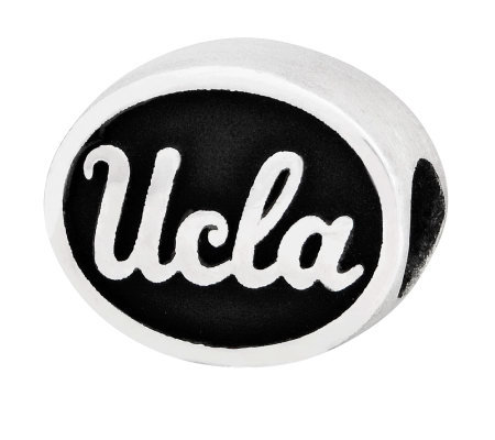 Sterling Silver University of California LA Bead