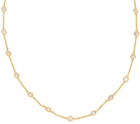 """As Is"" The Elizabeth Taylor 36"" Simulated Diamond Chain"